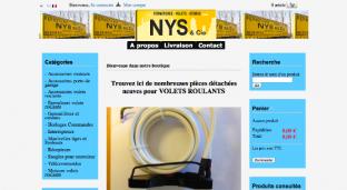 Vente en ligne de pièces détachées : www.piecesvolets.fr