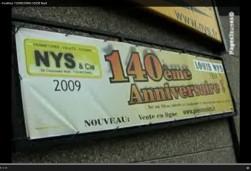 La société NYS fête ses 140 ans