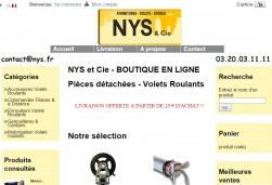Rajeunissement de notre site de vente de pièces détachées